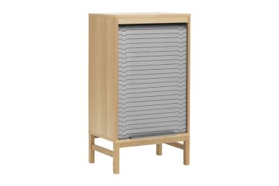 Jalousi Cabinet Grey, Small