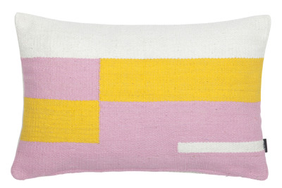 Jama-khan Cushion Pink, Rectangle