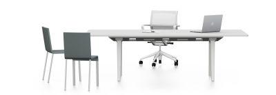 Joyn conference table 240, melamine soft light