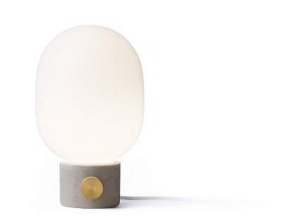 Jwda Table Lamp Light Grey & Brass