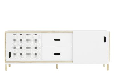 Kabino Sideboard with Drawers White