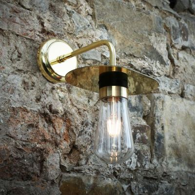 Kai Wall Light  Polished Brass