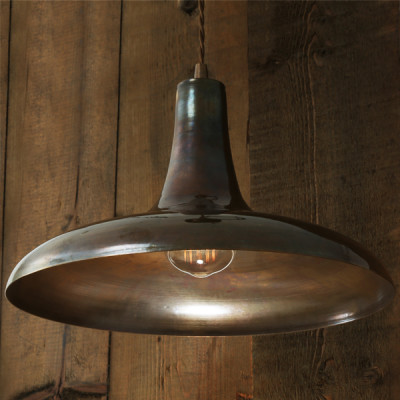 Kamal Moroccan Pendant Light Antique Brass