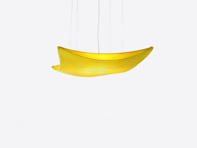 Kite Pendant Lamp White, No, Small