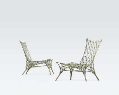 Knotted Chair Small Armchair