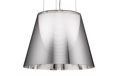 KTribe S Pendant Light S2, Aluminized Silver, Large