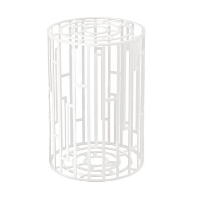 Kub Side Table Extra White