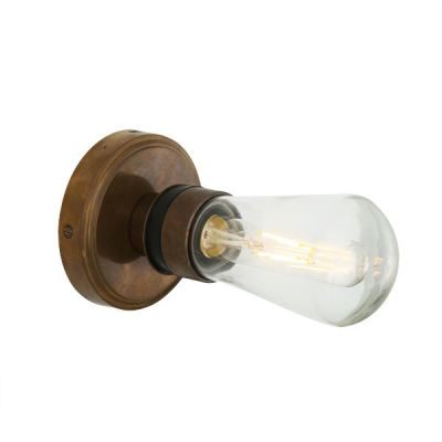 Kura Wall Light Antique Brass