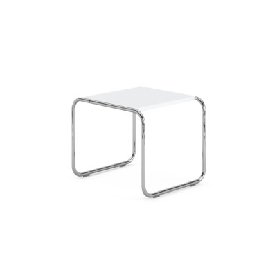 Laccio Side Table - White 55cm W x 48cm D x 45cm H