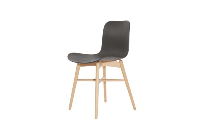 Langue Original Dining Chair, Natural Anthracite Black
