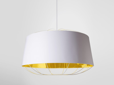 Lanterna Large Pendant Light White