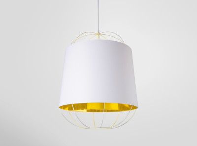 Lanterna Medium Pendant Light White