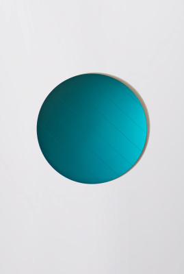 Layer Mirrors, Teal Teal Circle