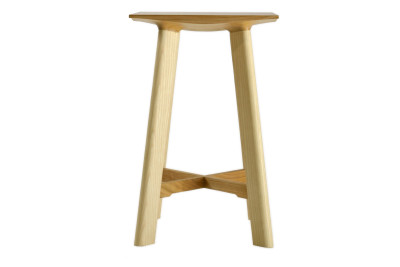 LE1 Low Stool Ash Legs, Cherry Seat