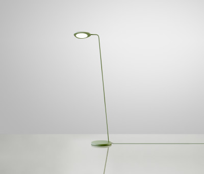 Leaf Floor Lamp Green