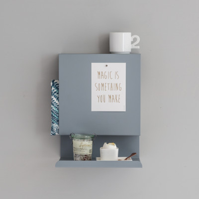 Grey Ledge:able Shelf in the Kitchen