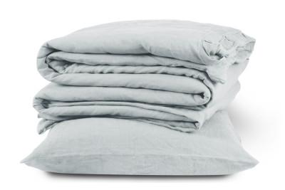 Linen Duvet Cover Classic White, King Size