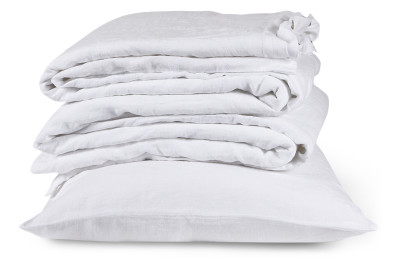 Linen Fitted Sheets Super King