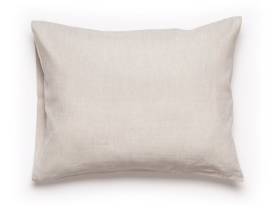 linen pillowcase sand brown