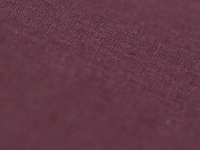 Linen fabric color Eggplant