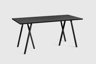 Loop Stand Table Black, 160