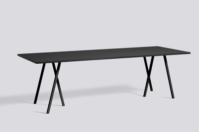 Loop Stand Table Black, 250