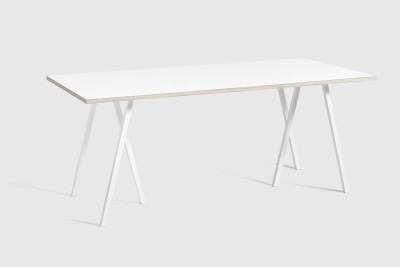 Loop Stand Table White, 180