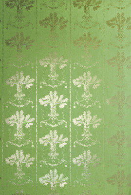 Lucky Charms Wallpaper Georgian Green