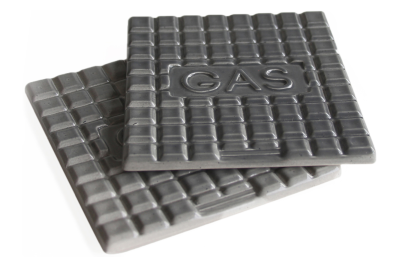 Manhole Coasters Set Dark Grey