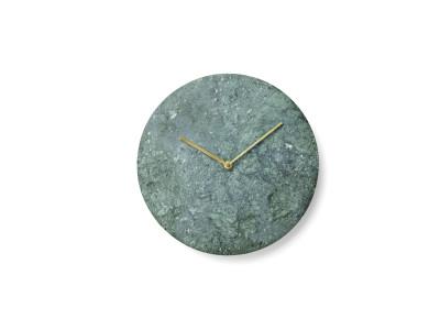 Marble Wall Clock Green