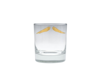 Maurice Gold Moustache Tumbler