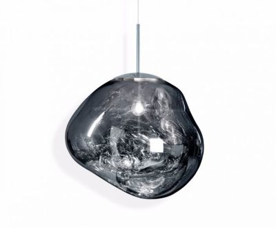 Melt Pendant Light Chrome
