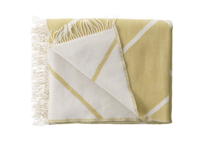 Mesch Throw - Set of 2 Mustard