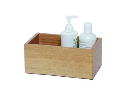 Mezza Storage Box Natural Oak