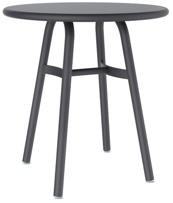 Ming Aluminium Café Table Black