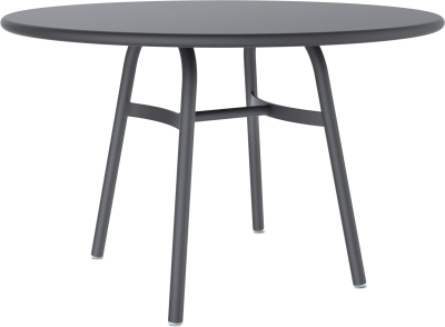 Ming Aluminium Dining Table Black