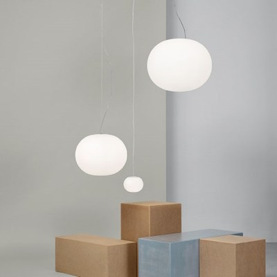 Mini Glo Ball C W Wall Light Mirror Mounted By Flos