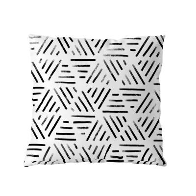 Minimal Monochrome Cushion with insert