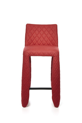 Monster Barstool Synthetic Leather Black, 93cm