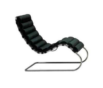 MR adjustable chaise longue 68-90H x 65W x 179D cm Venezia leather black