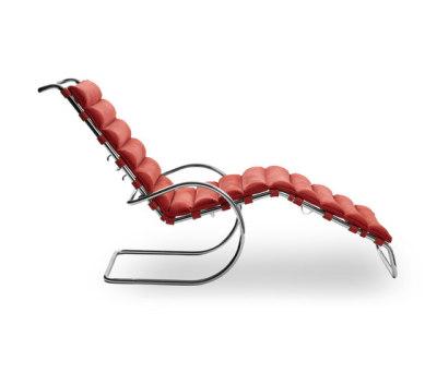 MR adjustable chaise longue 68-90H x 65W x 179D cm LC2406 leather