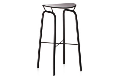 Nagasaki Bar Stool Gubi Metal Shy Cherry