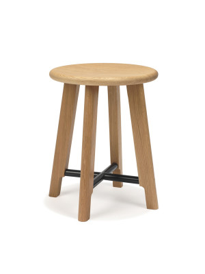 N&C Cross Stool New, Low