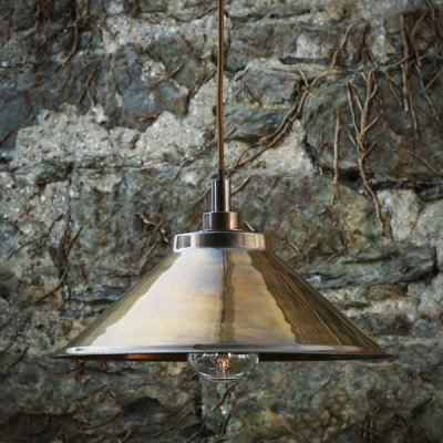 Nerissa Pendant Light Antique Brass