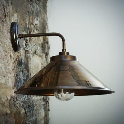 Nerissa Wall Light Antique Brass