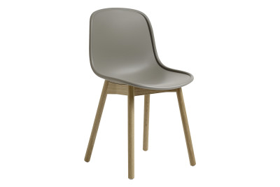 Neu13 Chair Grey, Matt lacquered solid ash