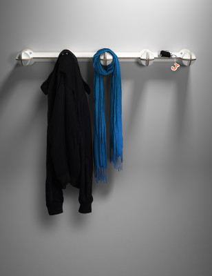 Nibby Coat Rack White