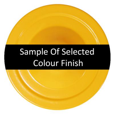 Powder Coated Yellow Finish