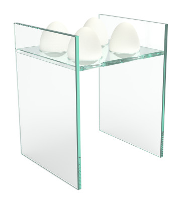 Nido Egg Rack Transparent