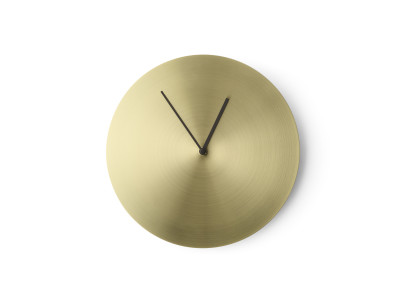 Norm Wall Clock Solid Brass